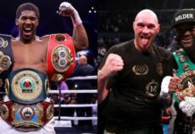 Deontay Wilder And Tyson and Anthony Joshua Boasts