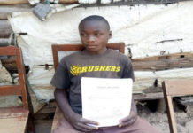 14-year-old Isaiah Wanjala