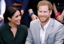 L-R Meghan Markle, Prince Harry