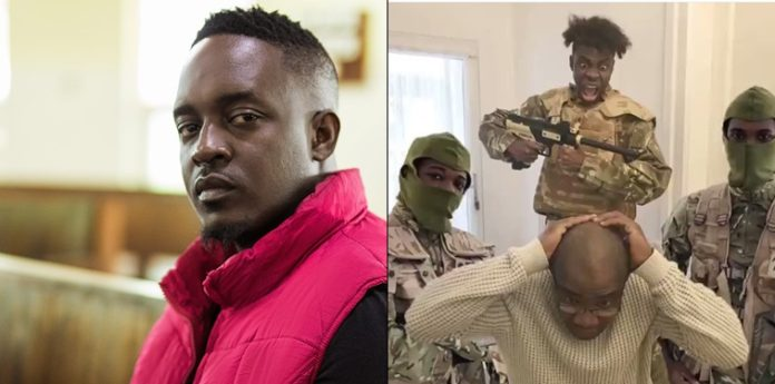 M.I Abaga Reacts To Viral Video Of A Child Word War III Prank