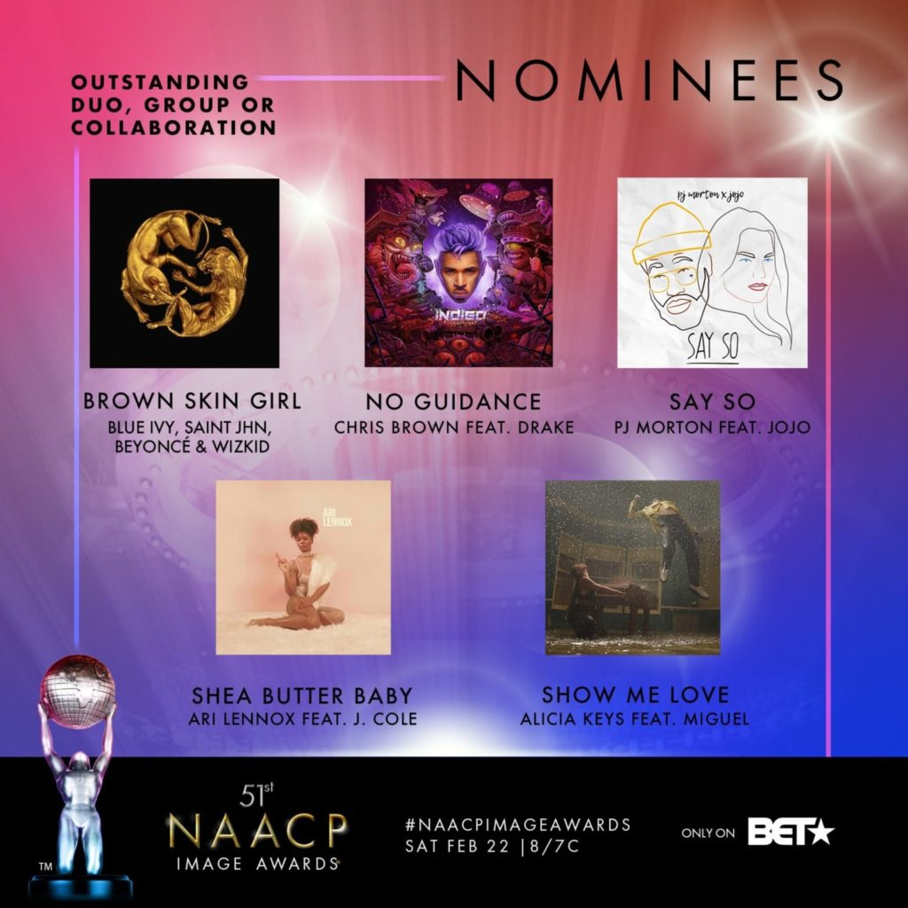 NAACP Image Award Nomination Naijahotstars