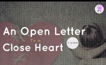 Flourish Joshua - AN OPEN LETTER TO A CLOSE HEART