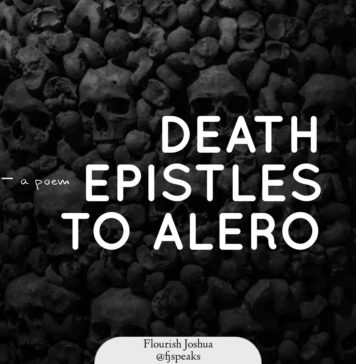 Flourish Joshua - DEATH EPISTLES TO ALERO