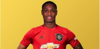 Ighalo's Shirt Number Unveiled At Manchester United