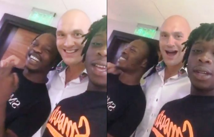Naira Marley and tyson-fury