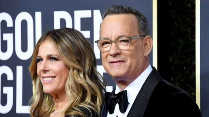 Actor Tom Hanks And Wife Rita