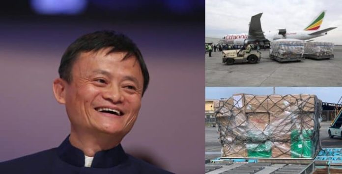 Chinese-billionaire-Jack-Ma's-medical-supplies-arrives-Nigeria