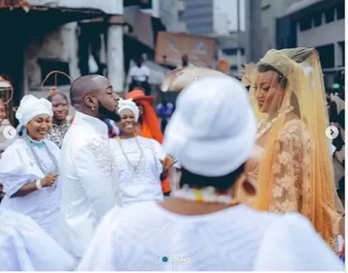 Photos From Davido and Chioma traditional Wedding