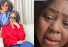 Regina Daniels' mother in tears as she laments over Coronavirus (Video)