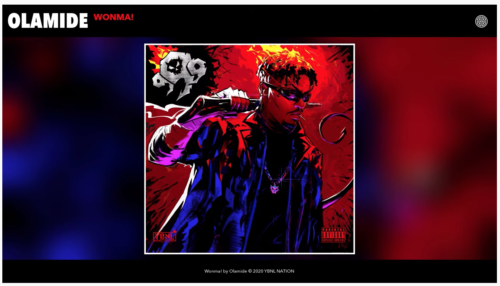 Olamide – Wonma