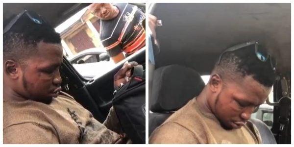 Sleeping Passenger refusing to wake up Naijahotstars