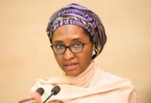 The Finance Minister Zainab Ahmed