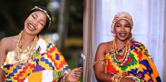 Ghana@63: Tacha Joins The Celebration With Dazzling Photos