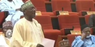 moment-a-nigerian-senator-removed-his-face-mask-to-sneeze-during-plenary